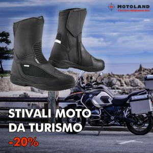 STIVALI MOTO DA TURISMO – MOTOLAND – FERRARA