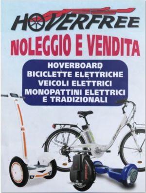 """Vendita e noleggio biciclette elettriche da """"HOVERFREE"""" – Lido degli Estensi – Ferrara"""